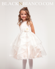 Ivory Flower Girl Dress
