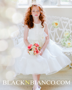 Adorable Ivory dress for girls
