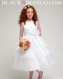 Dresses for girl in white.