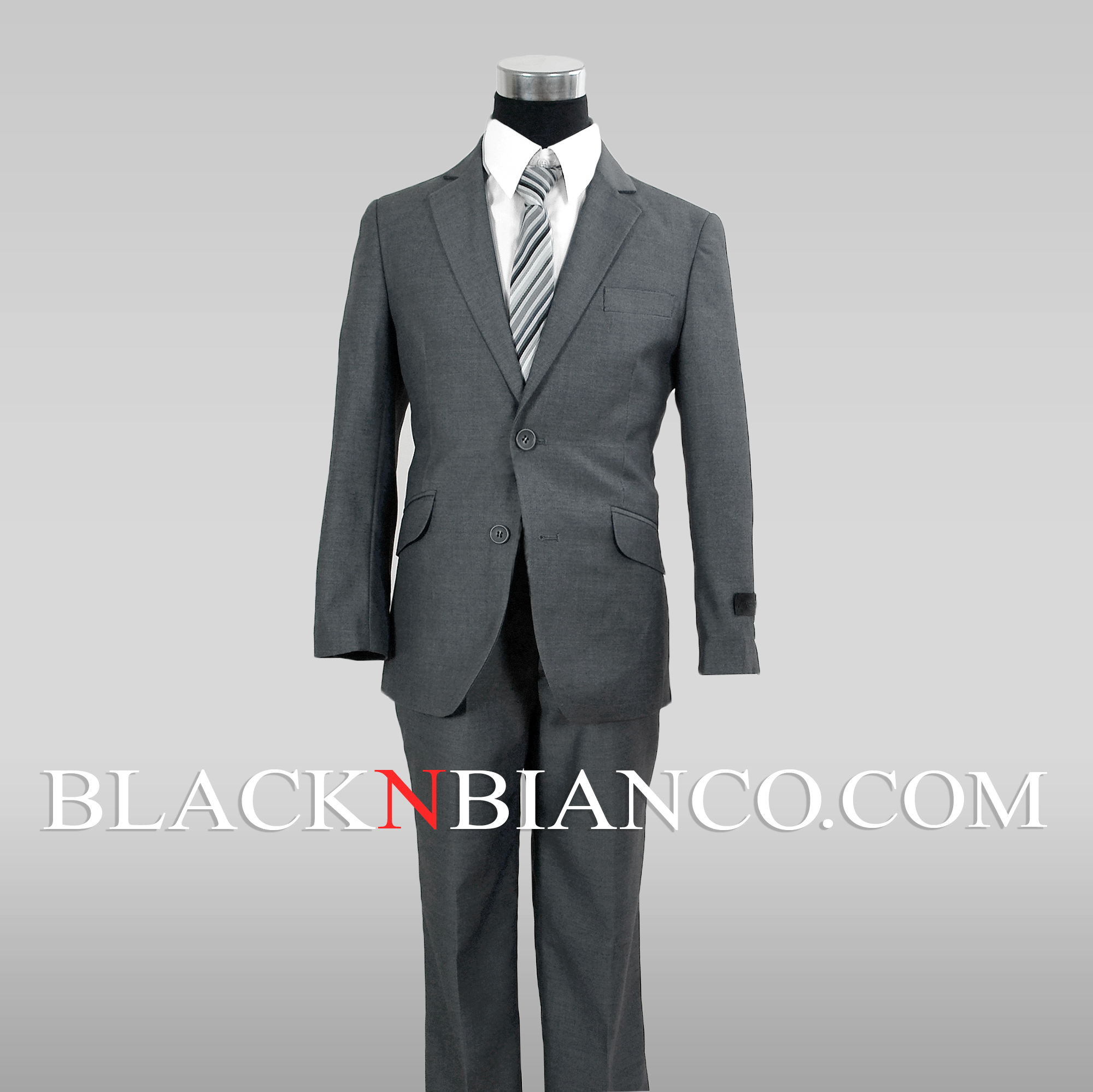 Slim fit suit for kids black n bianco blog