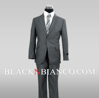 Boys Gray Suit