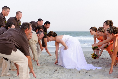wedding beach games