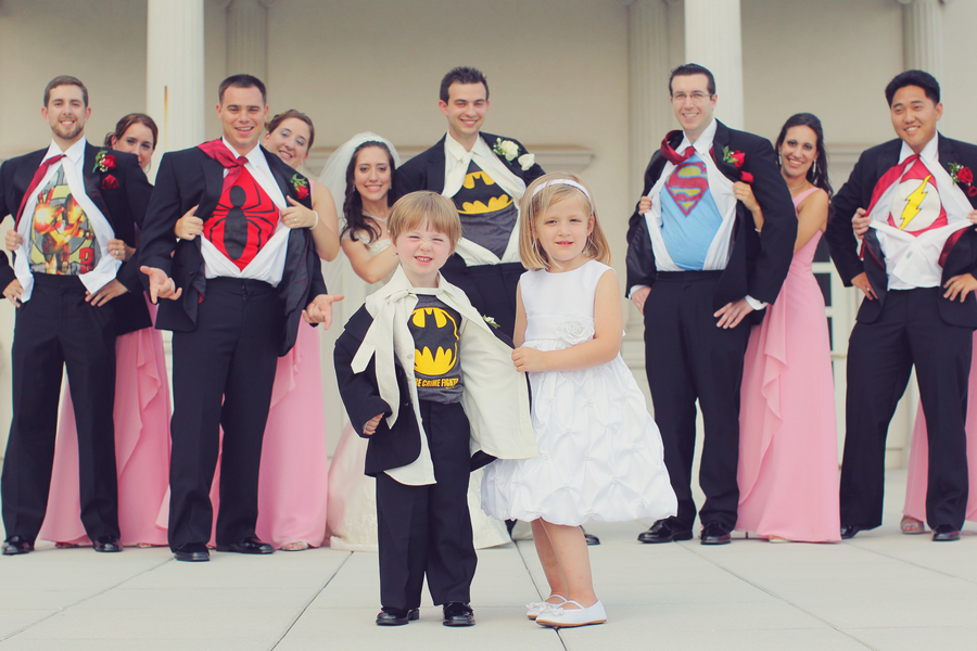 Superhero Wedding Theme Bash Black N Bianco Blog