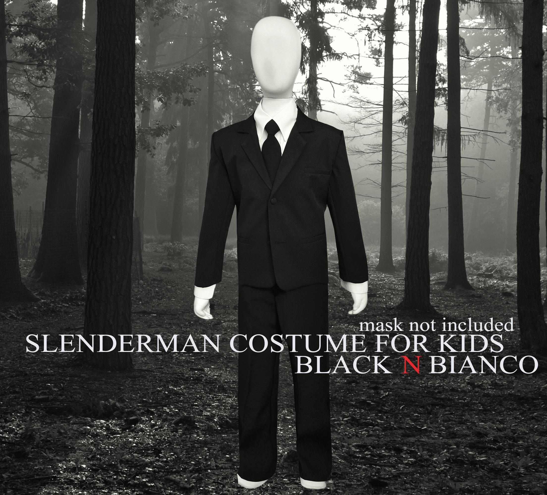 Slenderman Costume for Kids by Black N Bianco & BLACK N BIANCO Blog | Blogging about about the latest kids formal ...