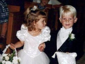 Ring Bearer and Flower Girl to Bride and Groom