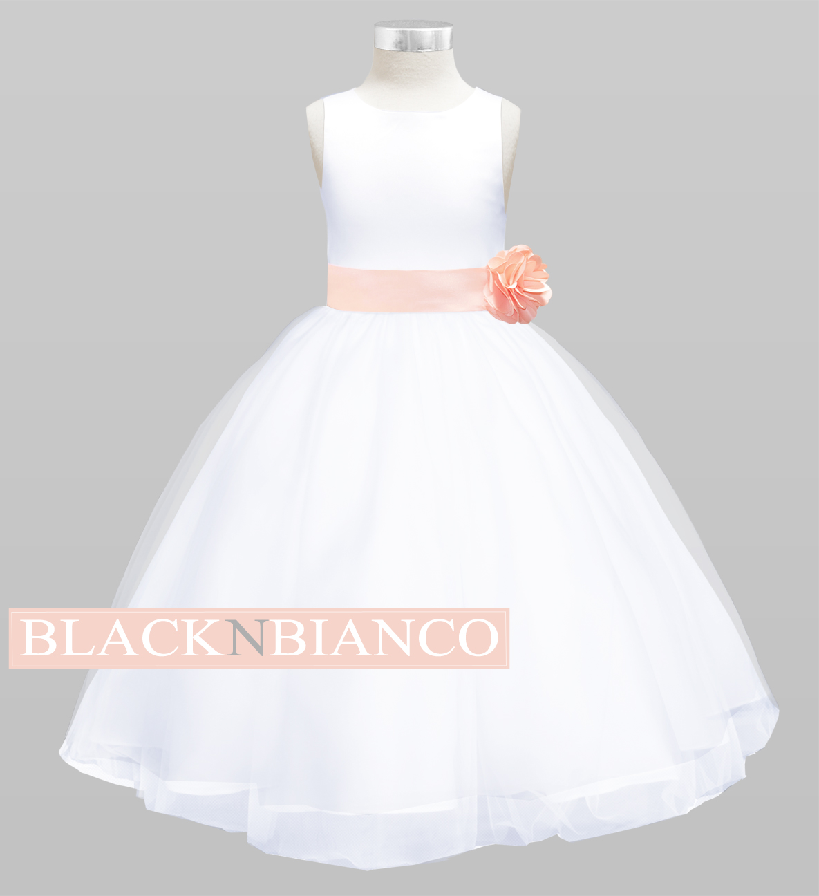 Flower Girl Dresses Black N Bianco Blog