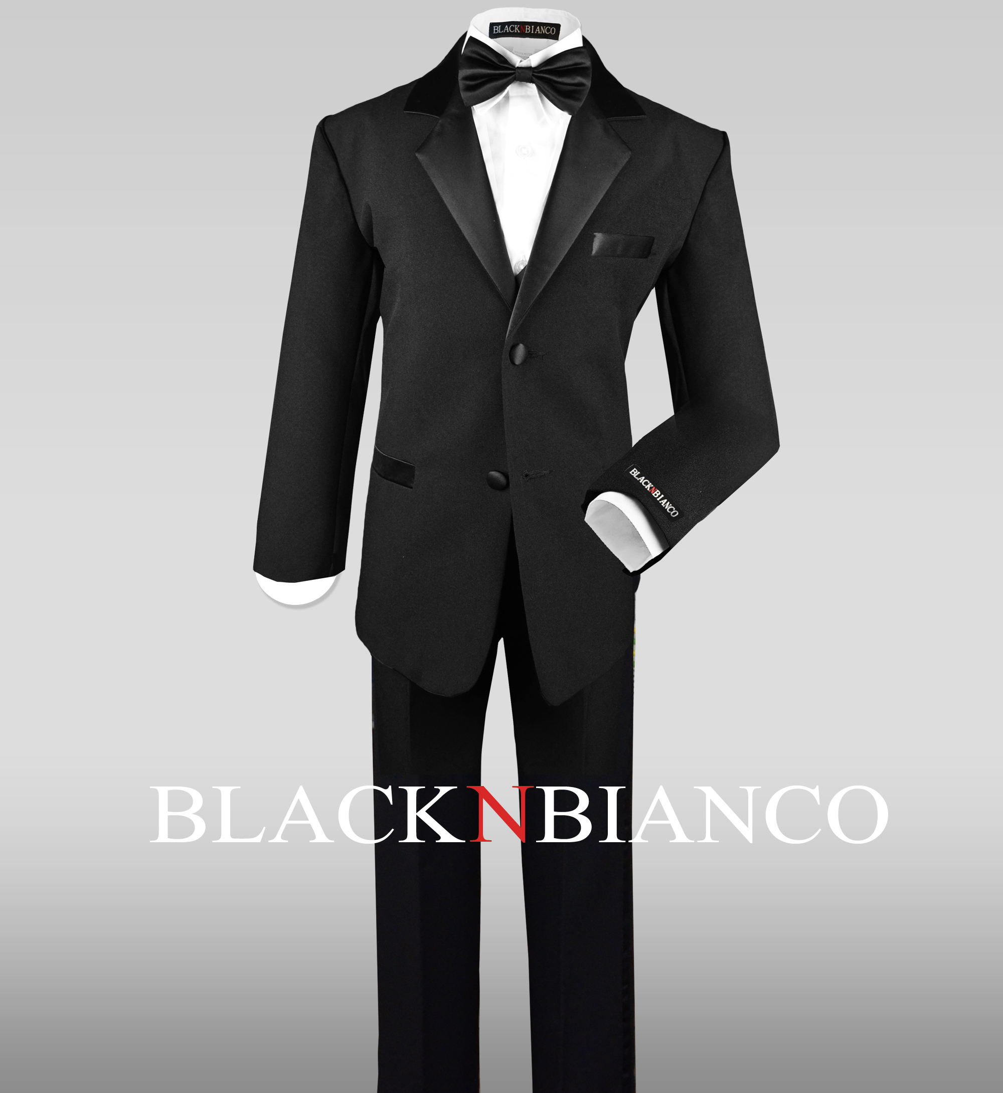 Boys Tuxedo Black N Bianco Blog