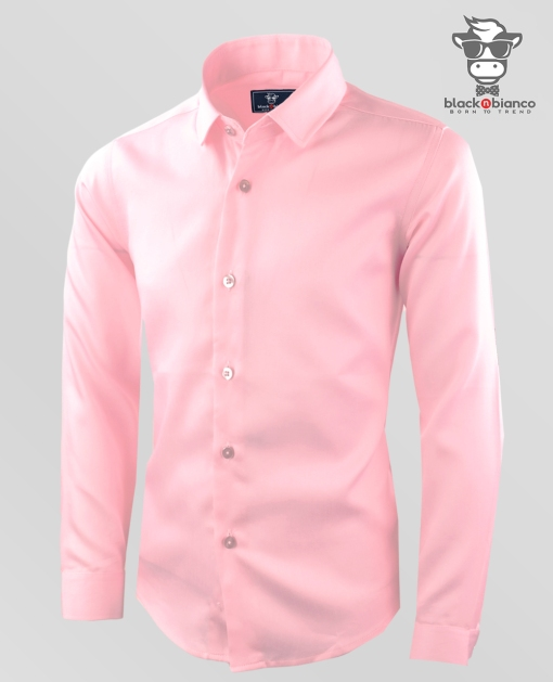 Boys Light Pink Dress Shirt