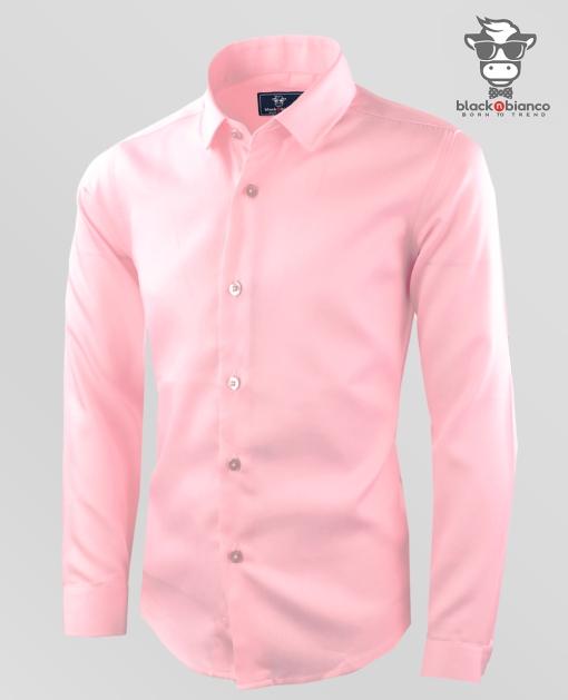 Boys Light Pink Dress Shirt