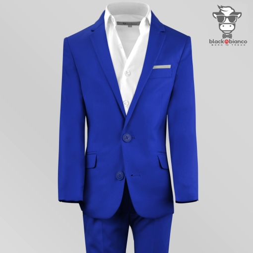 Boys Suits, Boys Royal Blue Suit, Boys Blue Suit