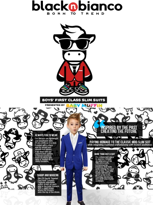 Black n bianco, boys slim fit suits, born to trend, boys suits, boys tuxedo suits,